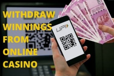 withdraw your winnings from Online Casino Account?